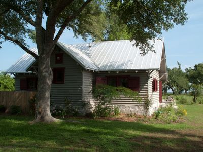 The cabin from St. Louis Street
