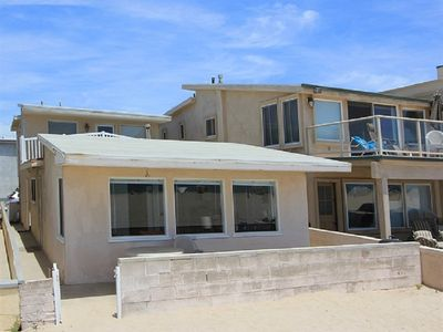 Photo for Great Upper Level Beach Cottage! Oceanfront with Beautiful Views!