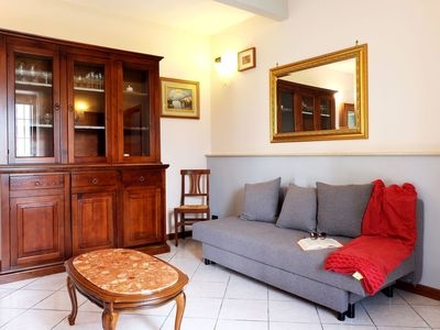 Photo for Apartment with garden and view onto the lake, 500m from the beach