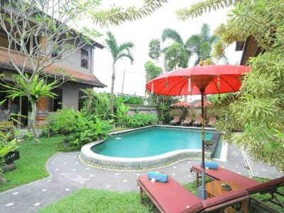 Photo for Feel the Balinese Ambience in the Heart of Ubud, 10 Mins to Central ubud (Dbl)