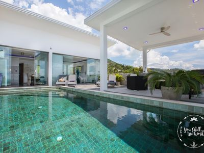 Photo for Villa Azur, Luxurious Style and Ocean View