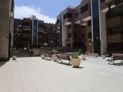 Photo for Spacious apartment with air conditioning on the first line of Las Canteras