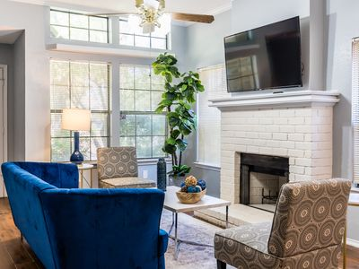 Photo for Stylish Dallas Home - 10 minutes to Downtown!