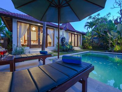Photo for Family Two Bedroom Private Pool Villa Anyar