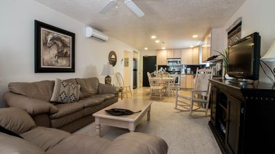 Photo for Alpine chic spacious 1 Bedroom Condo Located at the top of Main Street