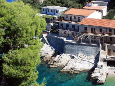 Photo for Two bedroom apartment near beach Cove Pobij (Hvar) (A-9704-a)