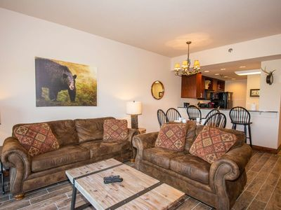 Photo for Big Bear Resort Condo~Indoor/Outdoor Pool-Fitness & Game Room-WiFi-Great Location-1 mile to Parkway
