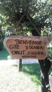 Photo for Chalet d'Olivier - quiet in nature near Pont d'Arc