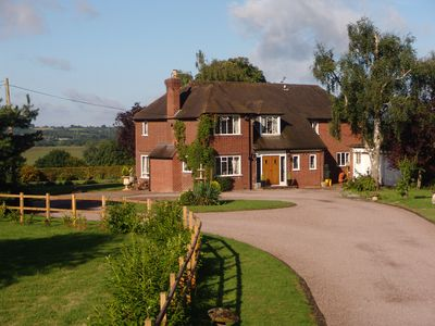 Photo for Country House, Near Stratford Upon Avon and Warwick with Superb Views
