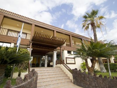 Photo for Tenerife Studio w/ Canarian Architectural Design, Balcony & Resort Pool!