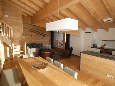Photo for Resid. Miravidi-Le Belvédère - Apartments character at the top of the Alps