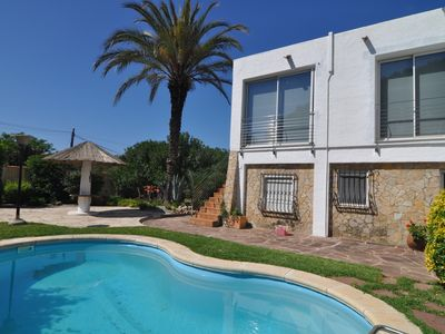 Photo for VILLA EMPURIES: HOUSE WITH PRIVATE POOL 50 METERS FROM THE BEACH