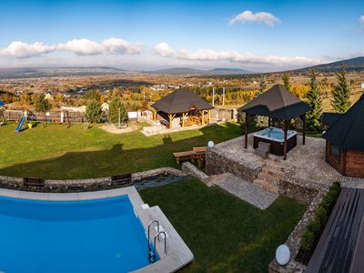 Photo for Luxurious duplex apartment with swimming pool Jacuzi beautiful surroundings