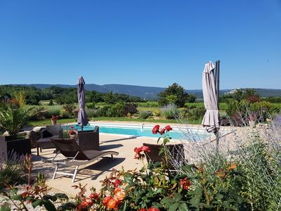 Photo for Mas in the heart of the Luberon in Bonnieux