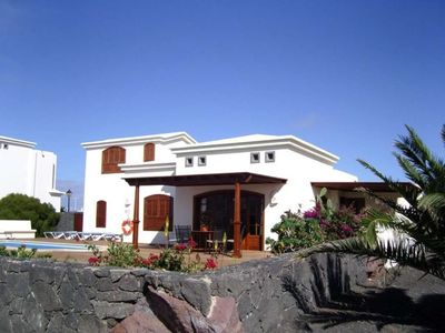 "Photo for House a short walk away (52 m) from the ""Playa Blanca"" in Playa Blanca with Internet, Pool, Garden, Balcony (970212)"