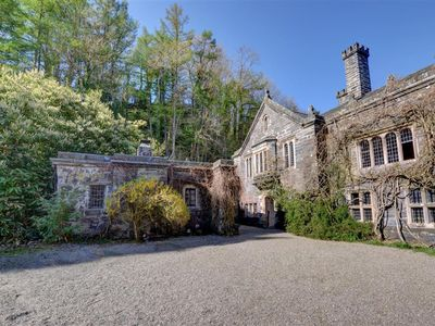 Photo for This cottage is a simple conversion of the 16th century Gatehouse at Gwydir Castle, just outside Lla