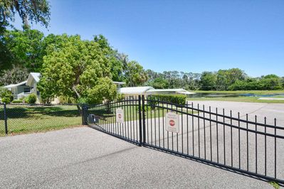 Personal property gate - with clicker for ease of entry-lake in back yard!