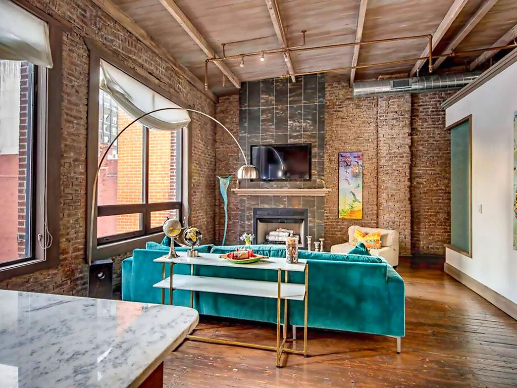 heart of downtown city loft penthouse homeaway downtown