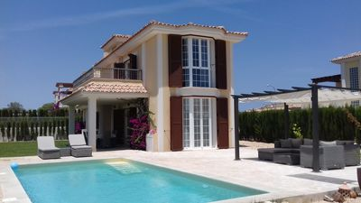 Photo for Villa for 6 pers., SW pool, close to the sea, air conditioning, WiFi, IR heating in all rooms