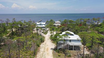 Photo for New Listing! Breezeway - Bay and Gulf views, 500' dock.  Beach gear included!