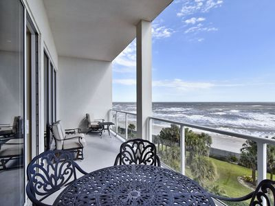 Diamond Beach 506-Seaglass Treasure: Beachfront, Indoor & Outdoor Pools, Private Balcony!