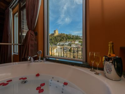 Photo for NEW! Alhambra views, house with jacuzzi and terrace