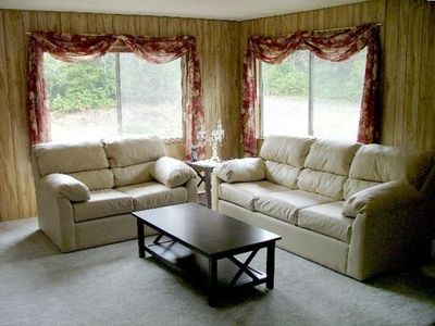 The comfortable living room