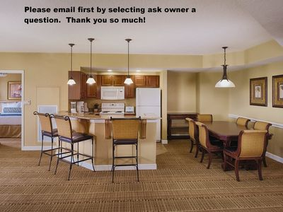 Photo for 2 Bdrm Deluxe condo at Resort in Bonnet Creek-Please email owner first