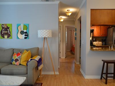 Photo for Comfortable apt in SOHO! King bed/Walk to Bayshore