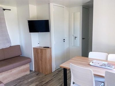 Photo for Camping La Plage d'Argens **** - Privilege mobile home AMAC Air-conditioned 4 rooms 6 people