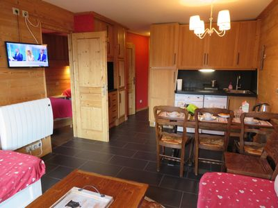 Photo for CHARMING APARTMENT, with SAUNA in the center of AVORIAZ