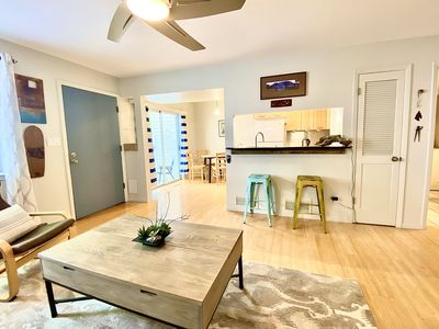 Photo for Modern Bohemian NOBO Townhome, Private patio/entrance, steps to bike path!