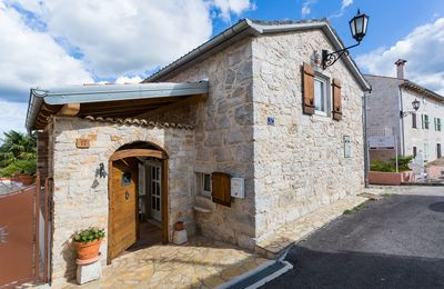 Photo for Beautiful stone house in Funtana near the sea with large garden, terrace, barbecue