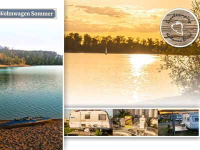 Photo for Caravan to relax on Kollersee near Speyer