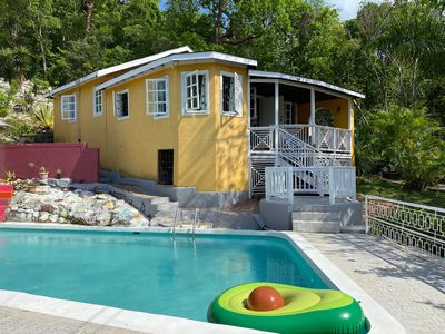 Photo for Almond Tree Cottage with Pool