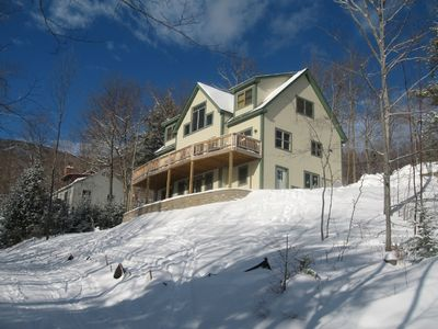 Photo for Ski In Ski Out house - Directly on the out to Lunch Trail!