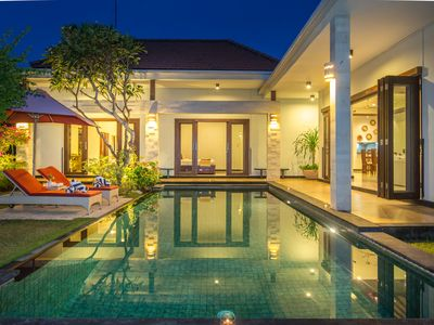 Photo for 3 Bedroom Villa With Private Pool and 24Hour Butler - Private Area + Parking