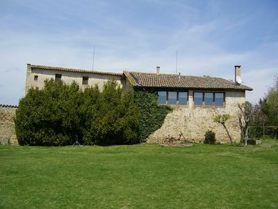 Photo for Splendid farmhouse S. XIV, porch with barbecue and private pool. 4000m2 garden.