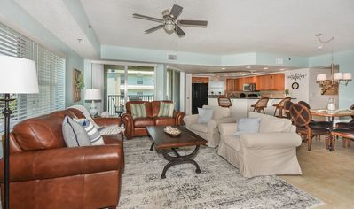 Photo for Great Location! Steps from beach access, Ocean View, 3 Bed 2 Bath with 2 balconies  OW12-401