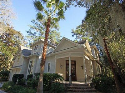 Photo for Spacious 4th row home, located in the heart of Sea Pines!