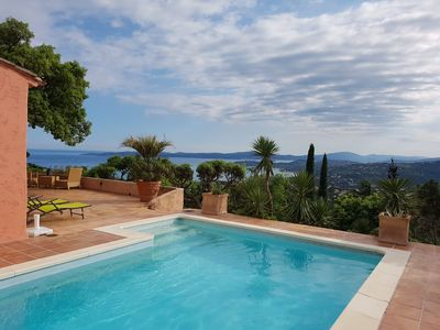 Photo for Stunning spacious villa with 4 bedrooms, panaromic views and private pool