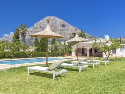 Photo for Old finca with private pool, air conditioning and wifi for 8 persons in Javea
