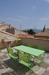 terrasse with view of Mt. Ste. Victoire