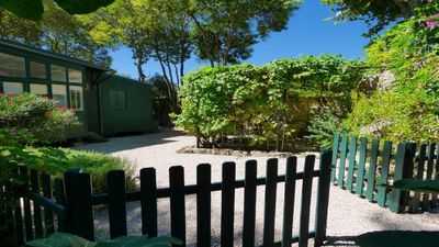 "Photo for Air-conditioned charming cottage ""la cabane"" and its private and independent garden"