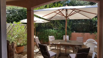 Photo for Charming apartment T3 with terrace of 50 m2 in APT Capitale du Luberon.