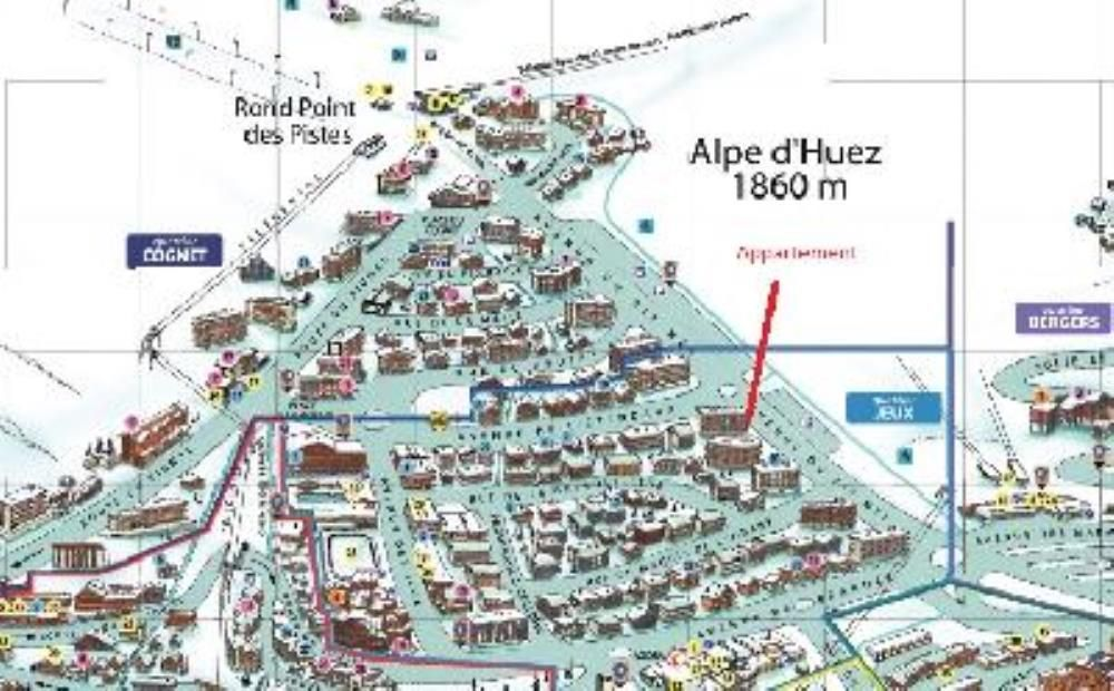 Apartment flat Alpe dhuez 150 m from tour de france 6342399
