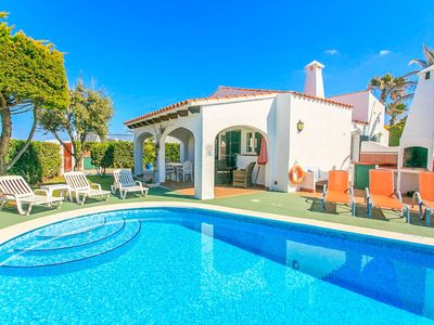 Photo for Villa Iris: Large Private Pool, Walk to Beach, WiFi, Car Not Required