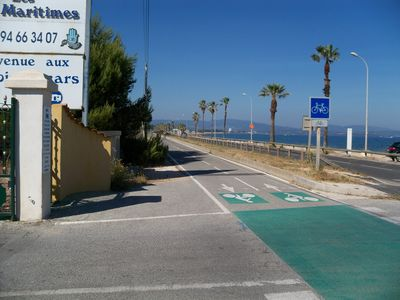 Photo for MOBIL HOME 2 Campsite Les Pins Maritimes 200 m from the sea, Hyeres