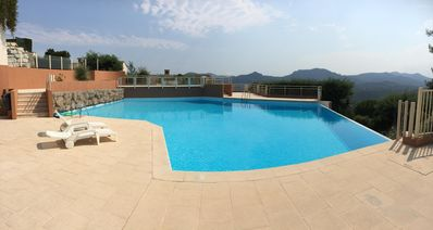 Photo for Sea View Apartment 180 ° + Pool. 5 minutes from Cannes