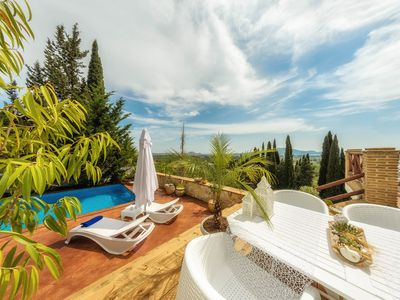 Photo for Ark Luxury Villa with private pool,  breathtaking views, 4 bedrooms